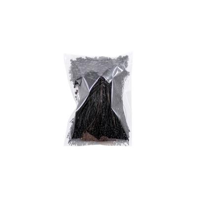 KP 블랙택끈(중)13cm(약1000개입) 라벨끈 상표끈