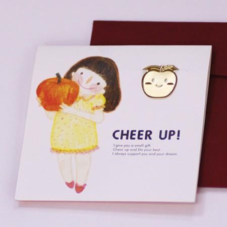 사과 소녀 - 책갈피카드