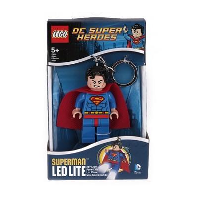 레고 DC 슈퍼 히어로즈 (슈퍼맨 LED 키체인)