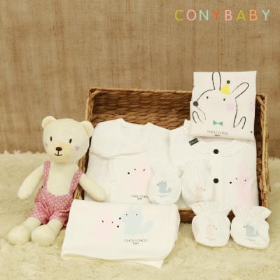 [CONY]신생아선물7종세트(파티+베베애착인형)