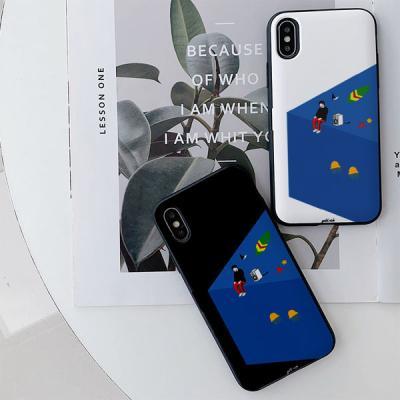 아이폰7플러스 골드리치 해변 카드케이스