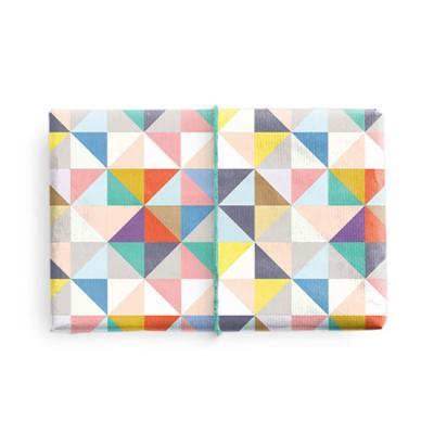 전통 조각 패턴 포장지 (2장)
