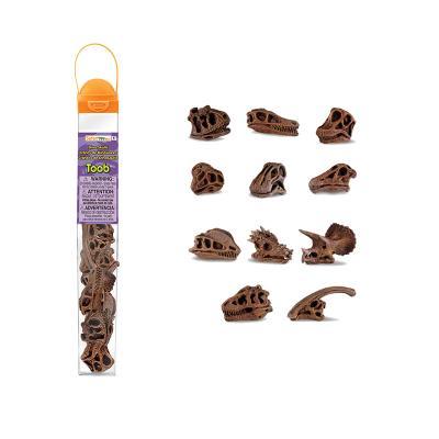 687404 공룡두개골 피규어 튜브