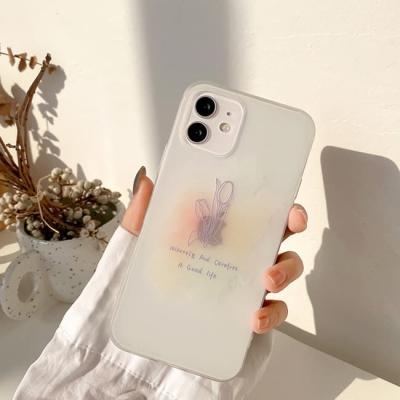 아이폰 투명 케이스 12 11 프로 맥스 미니 X 8 티드