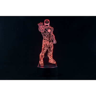 3D LED 무드등 슈퍼히어로 I (CBT940169)