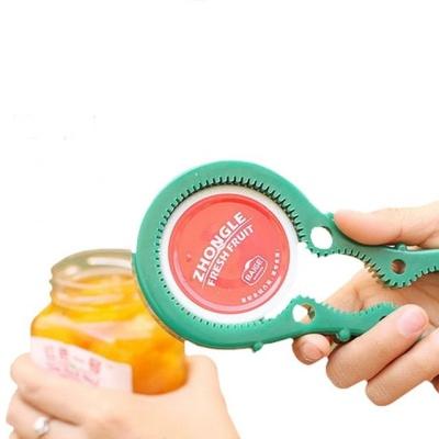 꿀병 잼병 음료수 병뚜껑 만능 병따개 오프너 그린