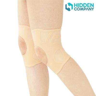 히든컴퍼니 실리콘 무릎 보호대 2P 1팩 남녀좌우 공용