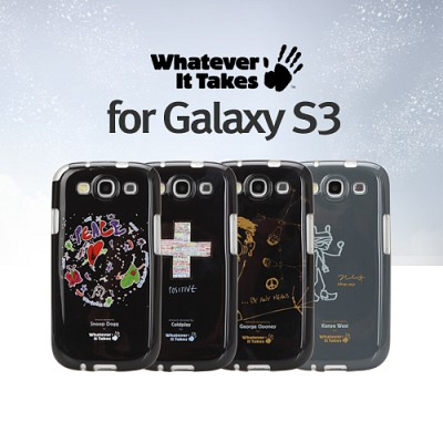 [1+1 케이스선택][whatever it takes]독점공식수입원 갤럭시3/Galaxy3  젤케이스-조지클루니 외4종