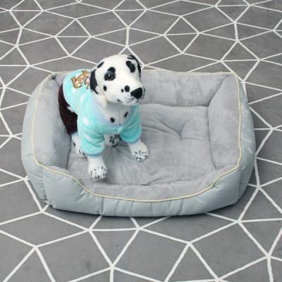 [펫딘]반려동물 강아지 쿠션 방석 그레이 PD-C016
