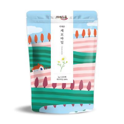 차예마을 보틀티 더채운 캐모마일 삼각티백 44g