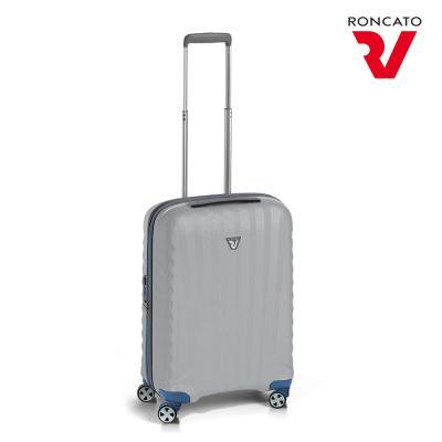 론카토 기내용 캐리어 우노SL 소형 블루실버 51435325