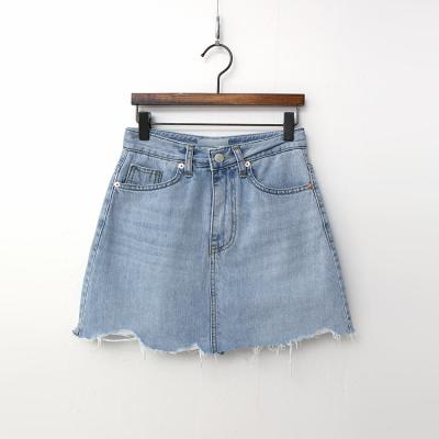 Every Denim Mini Skirt - 속바지