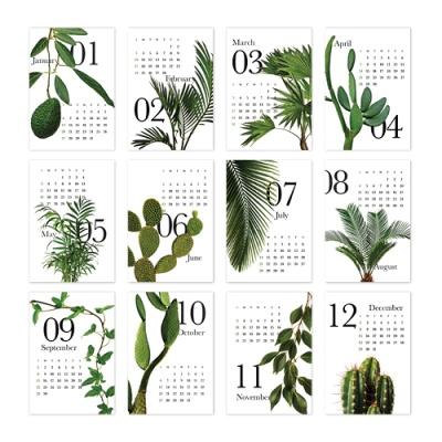 [2021 캘린더] Botanical
