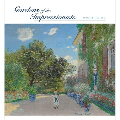 2021년 캘린더 Gardens of the Impressionists