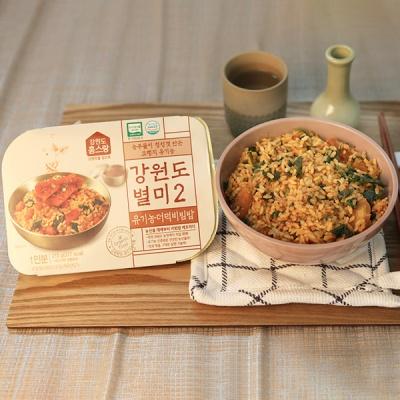 [건강한 한끼] 강원도 유기농 더덕비빔밥 210gx3팩