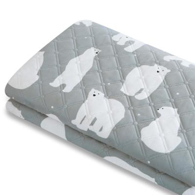 바이빔[바이빔] 북극곰 극세사 전기요[대형]