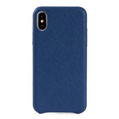 [매니퀸] 사피아노 스마트폰케이스 - 아이폰X 블루
