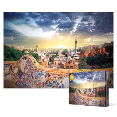1000피스 직소퍼즐 - 바르셀로나 가우디 구엘공원