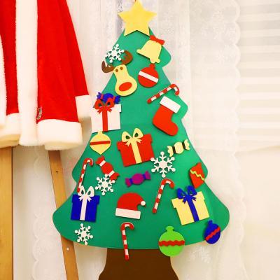 크리스마스 펠트 벽트리 만들기세트 (루돌프)