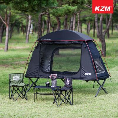 카즈미 블랙 코트 텐트 야전침대 텐트 1인용 텐트