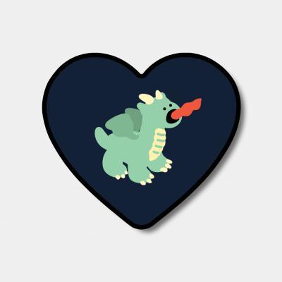 [하트톡♥] green baby dragon