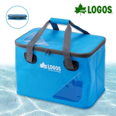 아쿠아 다용도 폴딩 박스 35L (블루)