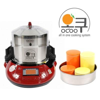 오쿠 OC-2100R 홍삼중탕기/약탕기/이유식 도자기 증정