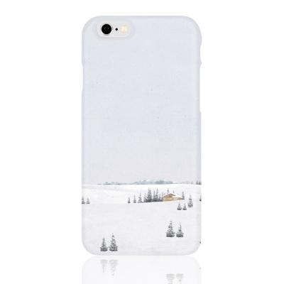 폰케이스 / 눈 오는 풍경