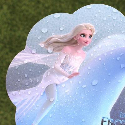 디즈니 겨울왕국 2_항균필름 종이부채
