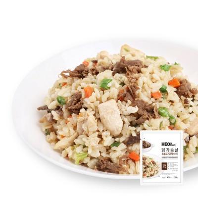 [허닭] 닭가슴살 소불고기 곤약볶음밥 250g 1+1