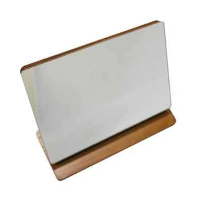 샤인빈 엔틱 탁상 사각 거울 메이크업 화장거울