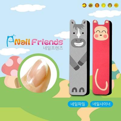 네일파일 and 샤이너 (Mini Friends-망이 and 몽이)