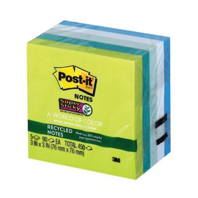 포스트잇 654-5SST(보라보라+그리너노트) 329647