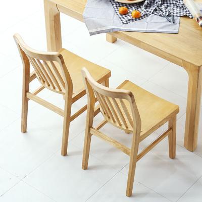 [채우리] 보그 원목의자