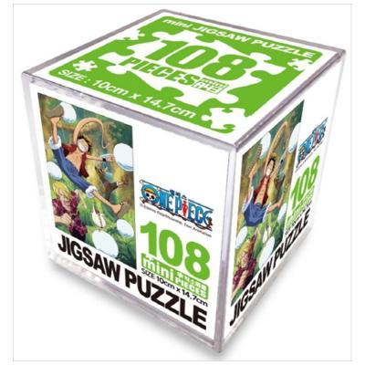 원피스 직소퍼즐 미니 Cube 108pcs: 구슬의 시련
