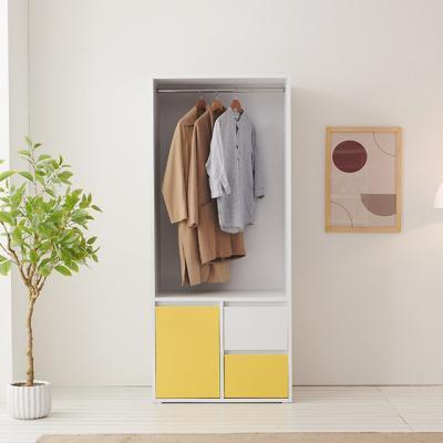 C1151 서랍 오픈형 옷장 중형 3colors