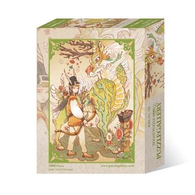 1000조각 직소퍼즐 ▶ 한국의 신수, 기린 (PG1000-10)