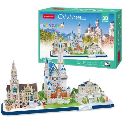 [MC267h] 시티라인-바이에른 (City Line Bavaria)