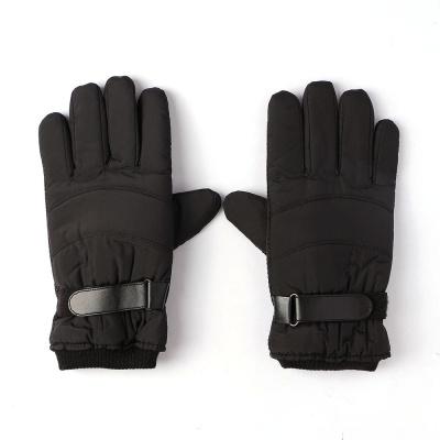 윈터빌 남성 터치 방한장갑(블랙) 보온 기모 겨울장갑
