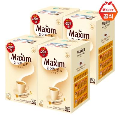 맥심 화이트골드 720T (180T 4개) / 대용량 커피믹스