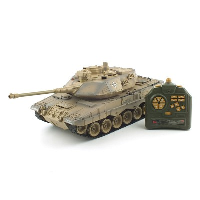 1/18 27MHz BB탄 발사 레오파드 탱크 (YAK161249SA) 무선모형 RC