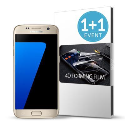 스킨즈 갤럭시S7엣지 4D 풀커버 액정보호 필름 (2장)