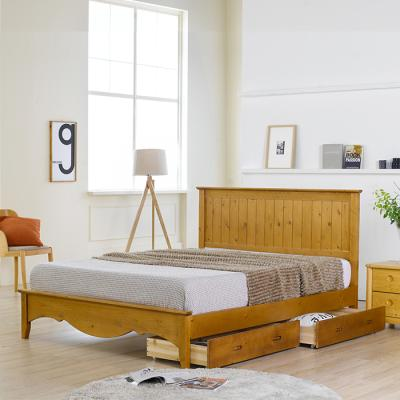 이홈데코 쟈클린 서랍형 원목 침대프레임(Q)