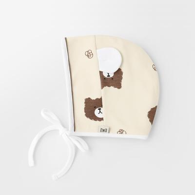 [메르베] 파마했곰 아기모자/보넷/비니_겨울용