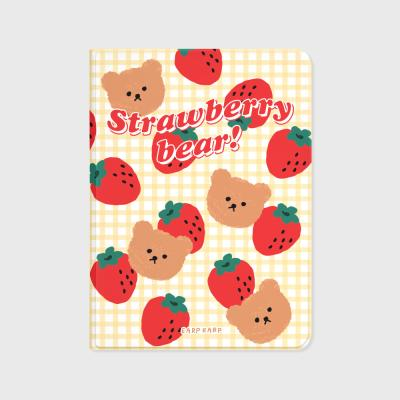 Big strawberry bear-ivory(아이패드-커버)