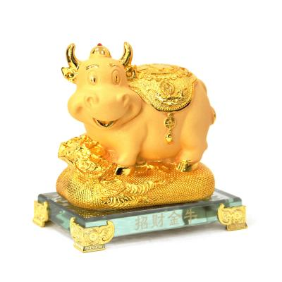 (kcrz120)황금 황소 와 황금돈주머니