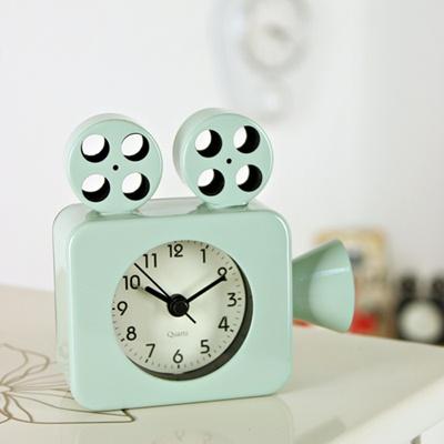 (ktsx091)영사기 저소음탁상시계 민트