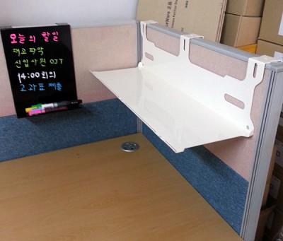 45mm파티션용  오피스퍼니처正品  레이저가공 66cm 장대형 일자형파티션선반