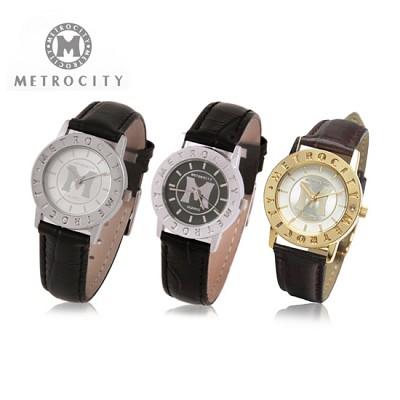 [METROCITY]메트로시티 남성/여성 손목시계  백화점 판매상품/AS가능 MTS0901M/L