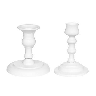 [Hubsch]Candlestick aluminium white 캔들스틱